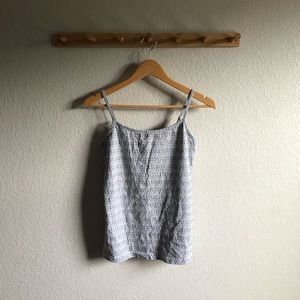 Embroidered Dot Tank